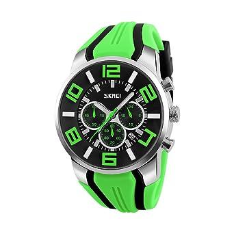 bf280344ea Amazon   Rockyu ブランド 人気 腕時計 メンズ 男女兼用 オシャレ カレンダー サファイアガラス 海外ブランド ブラック メンズ時計    メンズ腕時計   腕時計 通販