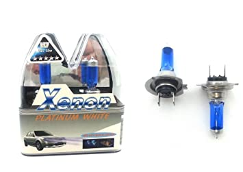 55w Super White Xenon HID Upgrade Low Dip Beam Headlight Headlamp Bulbs