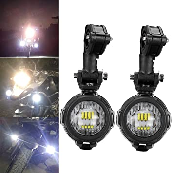 9ae7463bc LITTOU 40W LED Auxiliary Lights 6000K Super Bright Fog Driving Light ...