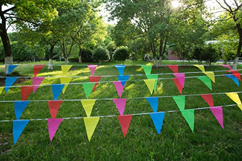 ag Pennant Flags for Festival,Grand Opening,Party By KalaBear (Grand Opening Pennants)