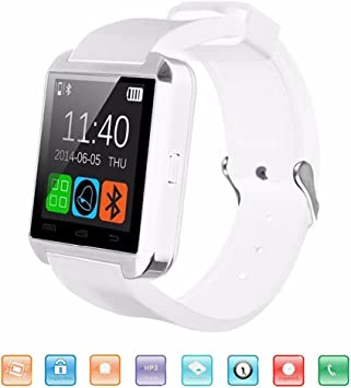KeepGoo Bluetooth Reloj Inteligente, U8 Smartwatch para Android ...