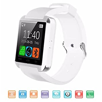 KeepGoo Bluetooth Reloj Inteligente, U8 Smartwatch para Android ...