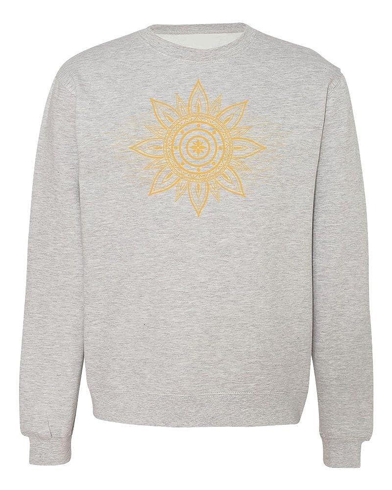 Beautiful Bright Sun Ornament Mens Womens Unisex Sweatshirt