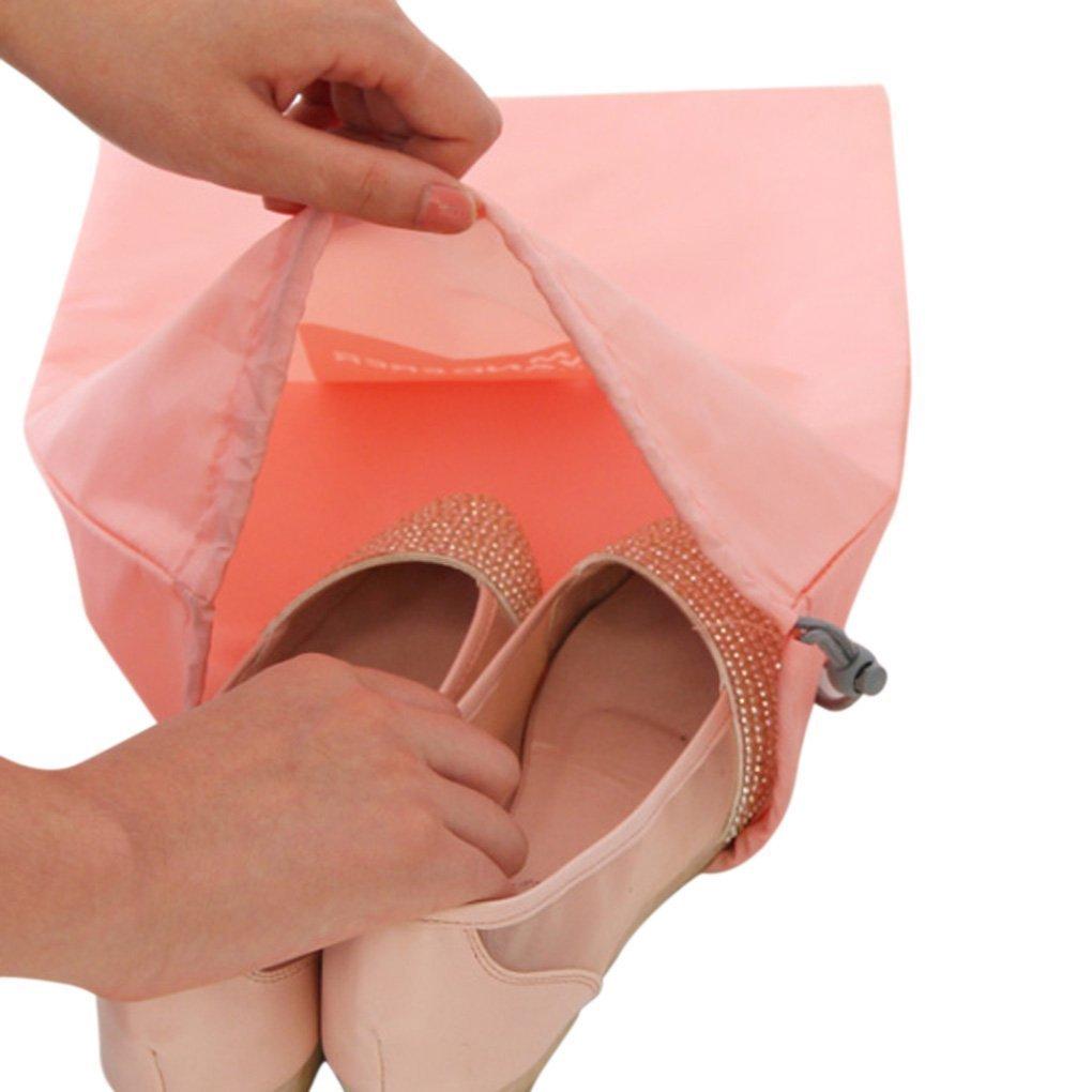 sac /à linge pochette organza pour voyage organiseurs de bagage petit trousse /à toilette Amoyie Lot de 8 sacs /à cordon imperm/éable sac de cotonnade cosm/étique jouet Sacs de sport