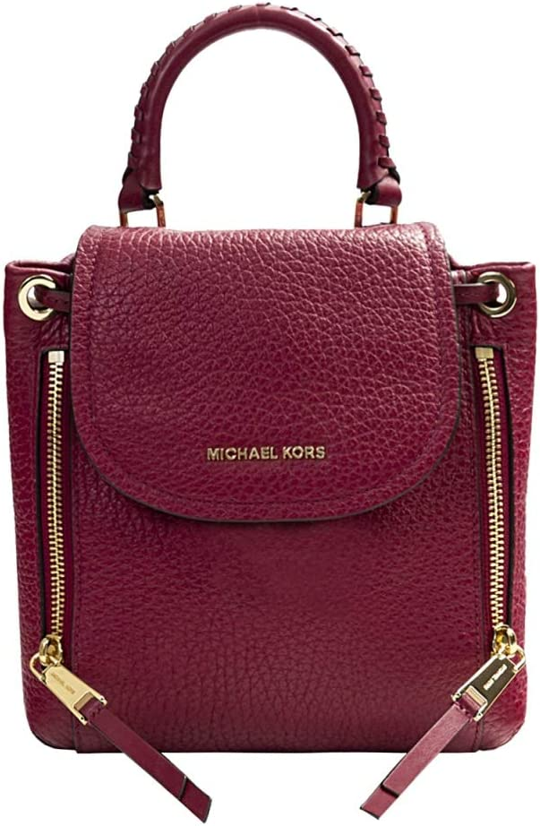 Michael Kors Viv Ladies X-Small Berry Leather Casual Daypack 30H9GVBB0L506