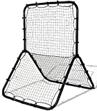 K&A Company Training Baseball Net Softball Rebounder Throw Pitch Back Practice Pitchback Rebound Youth Pitching Throwing Frame New