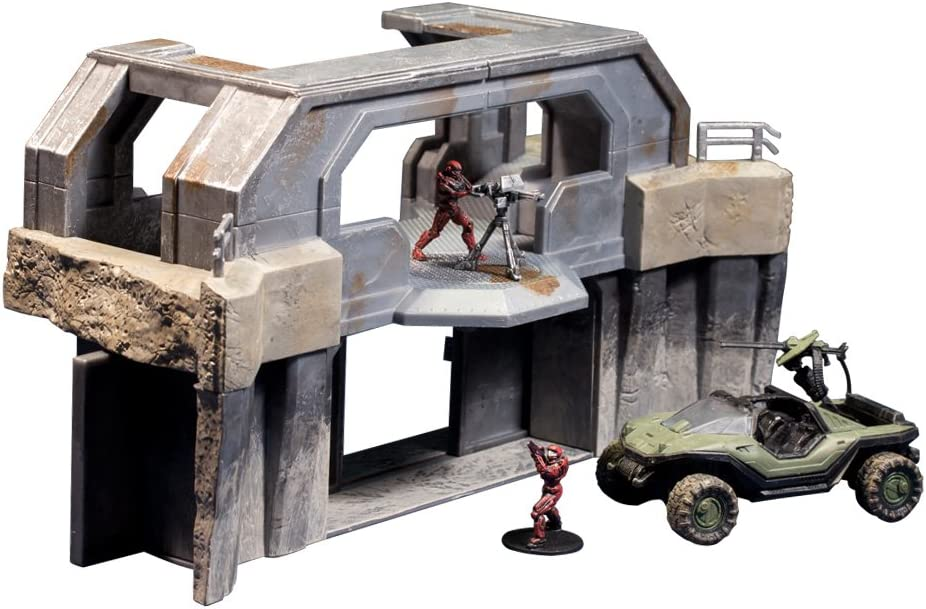 Wolf Spider Ghost vs Halo Micro Ops Series 1 McFarlane toys