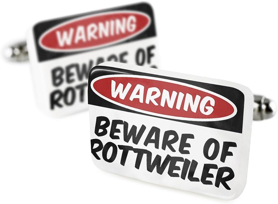Gemelos de la Rottweiler perro de Alemania porcelana cerámica ...