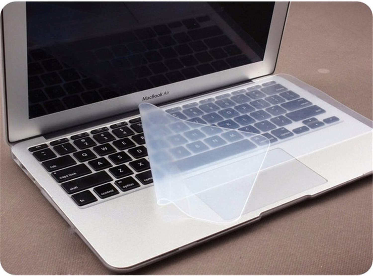 Anti dust and Waterproof Keyboard Cover Universal Soft Silicone Protector Film for MacBook Pro 15 17 Inch Laptop Notebook-1 Piece