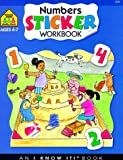 Numbers Sticker Workbooks, School Zone Publishing Company Staff, 0887431194