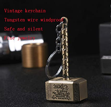 Zenghh Llavero Cargador USB Encendedor Alambre de tungsteno ...