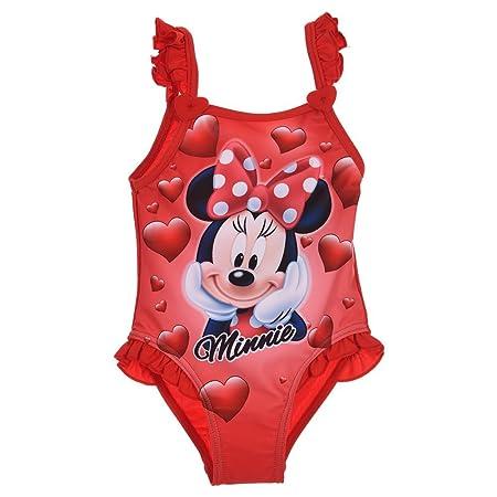 Minnie Costume da Bagno Bikini 12-18 24-36 Mesi Disney Estate 2020