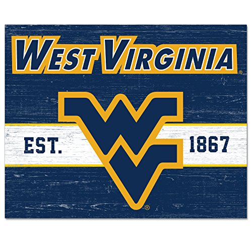 - CounterArt/Collegiate 10 by 8-Inch Glass Cutting Board, West Virginia Mountaineers