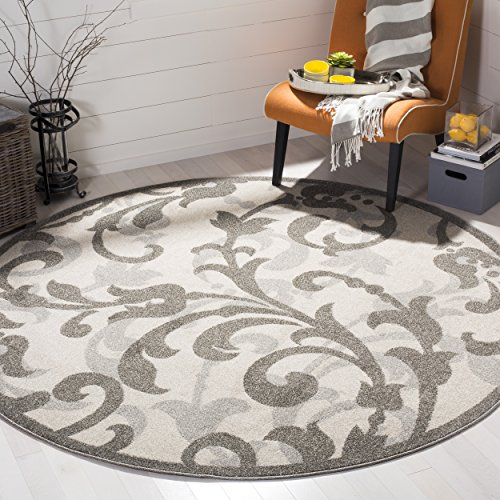 Safavieh Amherst Collection AMT428E Ivory and Light Grey Ind