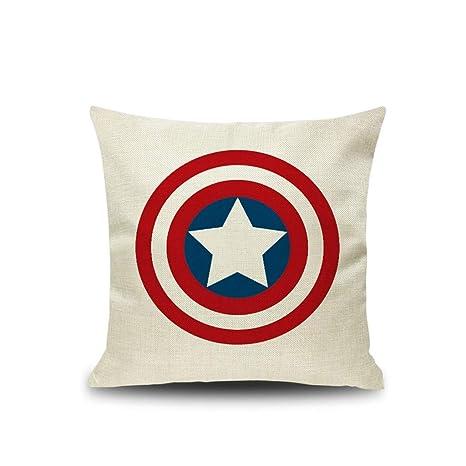 BHG Capitán América/Iron Man/Cojín Spiderman, Sofá de ...