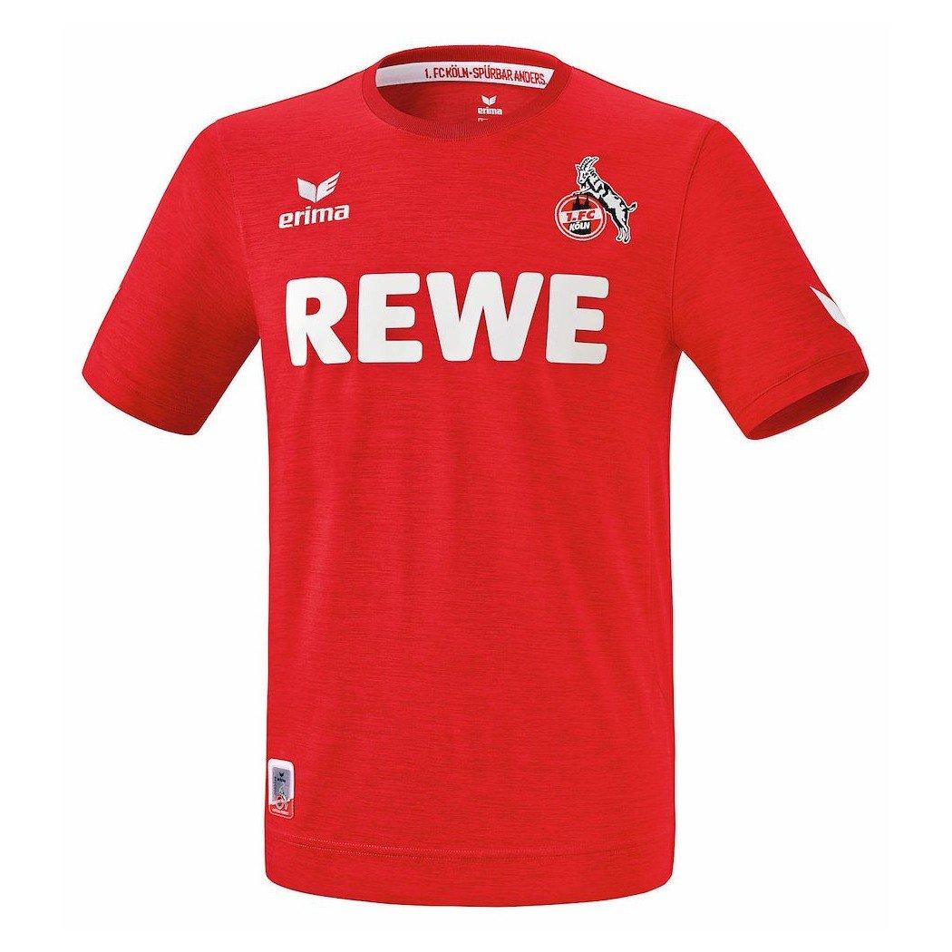 Erima 1.Fc Köln Trikot Away Incl REWE 2016 2017   Red Melange
