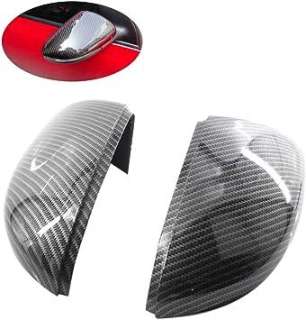 Wovelot Seitenspiegelabdeckungen Carbon Mira Ersatz Spiegelkappen Aus Carbon Für Golf 6 Jetta Mk6 Gti Gtd R20 Außenspiegel Auto