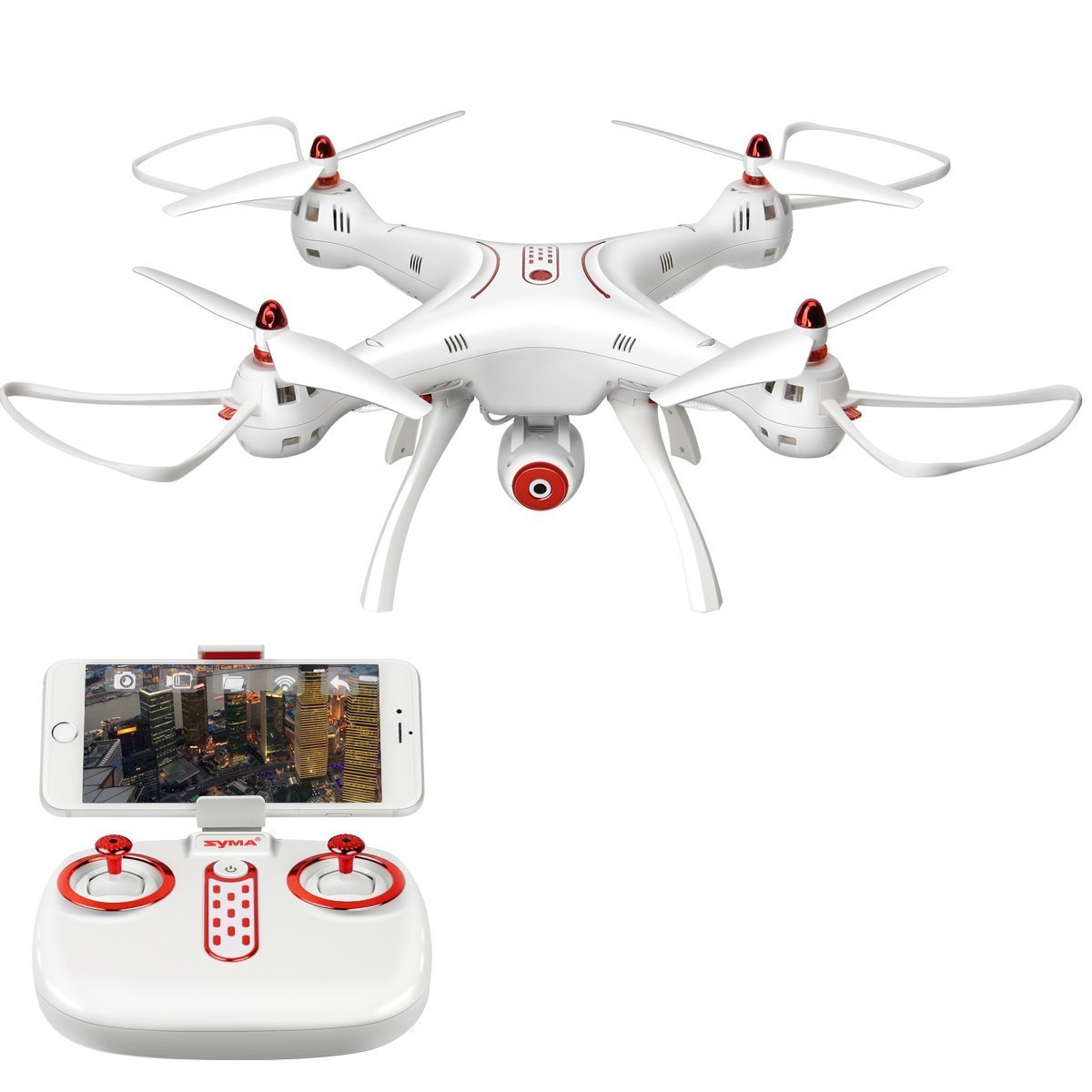 LiDi RC Syma X8 series RC Drone Quadcopter (X8SW): Amazon.es ...