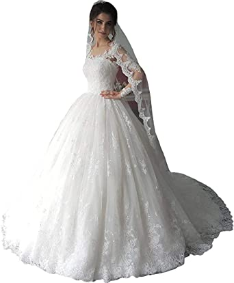 Lace Wedding Dress With Sleeves.Fanciest Women S Vintage Lace Wedding Dresses Long Sleeve Wedding