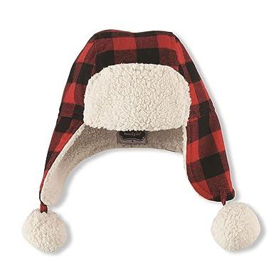 9593301a3e3 Amazon.com  Mud Pie Baby Boys Buffalo Check Hat (Infant)  Clothing