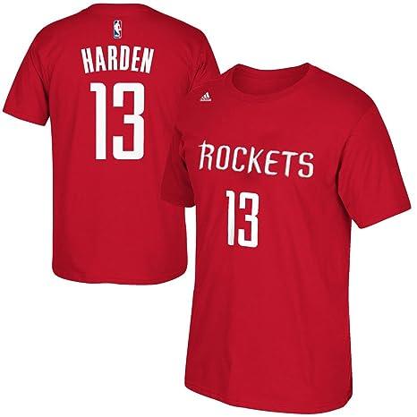 47dbb22bfaff4 Amazon.com : Houston Rockets James Harden #13 Player HD Print Name ...