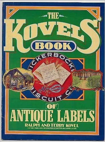 Ebooks gratuits Google télécharger le pdf The Kovels' Book of Antique Labels B000HFEA4K PDF CHM