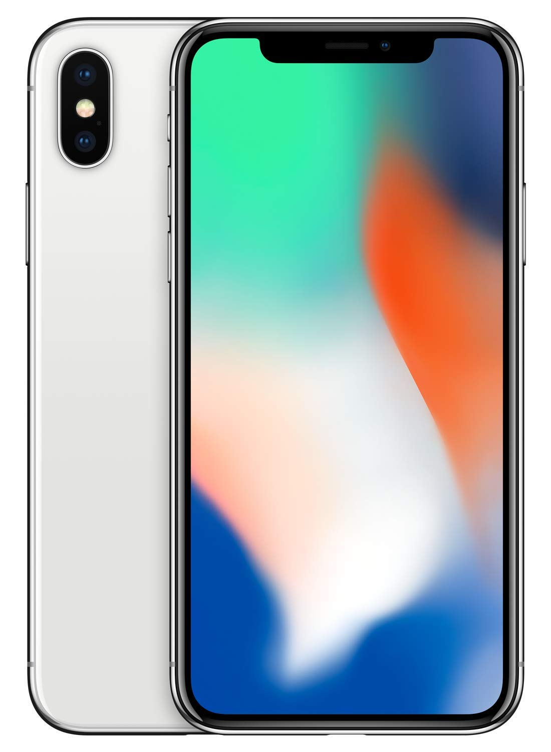 low priced 11c8d a111d Simple Mobile Prepaid - Apple iPhone X (64GB) - Silver