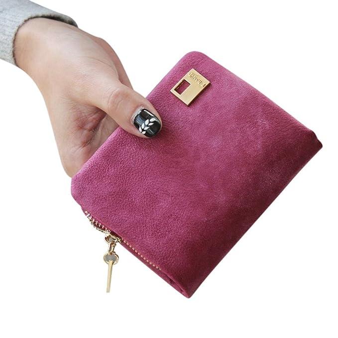 Cartera de mujer, fantasde embrague Cambio Moneda Bolsa Bolso de mano Mini bolso de mano mujer cartera: Amazon.es: Ropa y accesorios