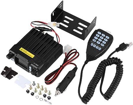 Zerone Coche walkie-Talkie VHF frecuencia UHF Mini Pantalla a ...