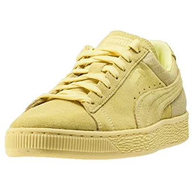 Puma Suede Classic Emboss Womens Trainers Lime - 8 UK  Amazon.co.uk ... 543d0a5bb0
