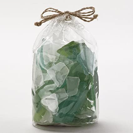 Amazon Polynesian Green Seaglass Vase Fillers Sea Glass In