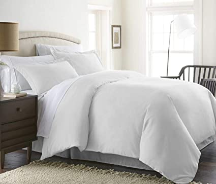 1000 TC EGYPTIAN COTTON 3PC DUVET SET*GRAY SOLID RV//King//Cal//Twin//Full//Queen