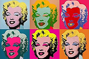 Amazonde Pop Art Kühlschrank Magnet Andy Warhol Marilyn Monroe