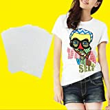Total Home:20Pcs A4 Light Inkjet Heat Transfer Printing Paper For T Shirt Thermal Transfers Paper For Fabric T Shirt Clothes Wholesale