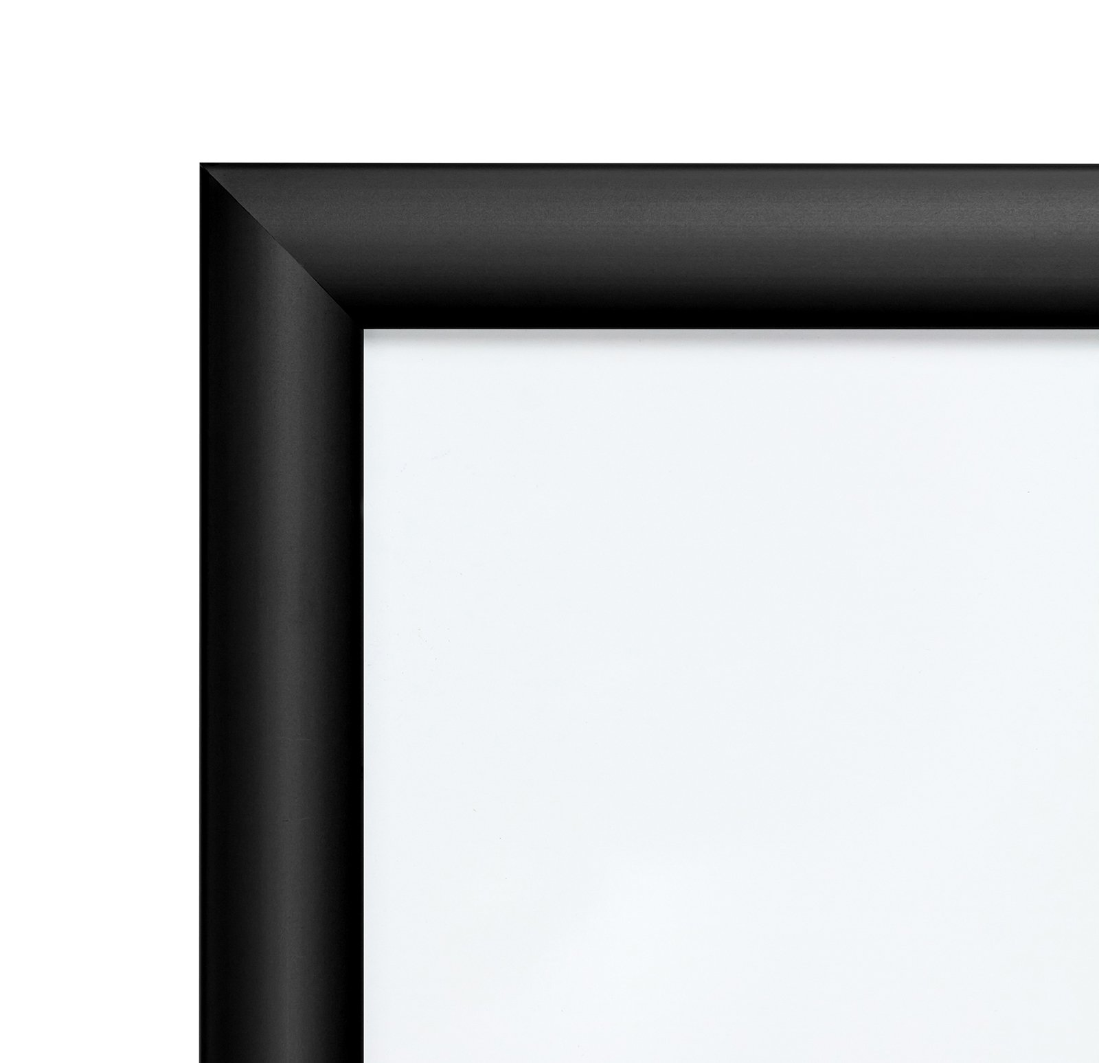 SnapeZo Weather Resistant Black Poster Frame 8.5x11 Inches, 1.38 Inch Outdoor Profile, Outdoor Poster Display Unit by SnapeZo (Image #2)