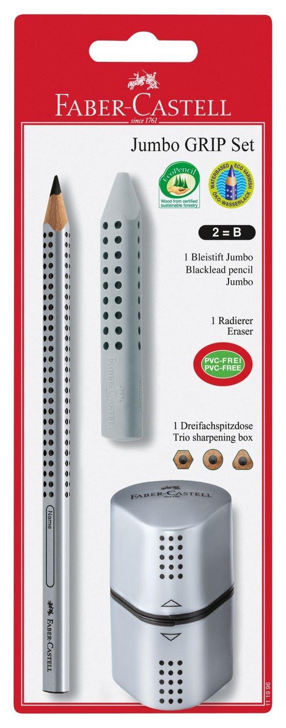 Faber-Castell 111996, Set di matite Grip 2001 [Importato da Regno Unito]