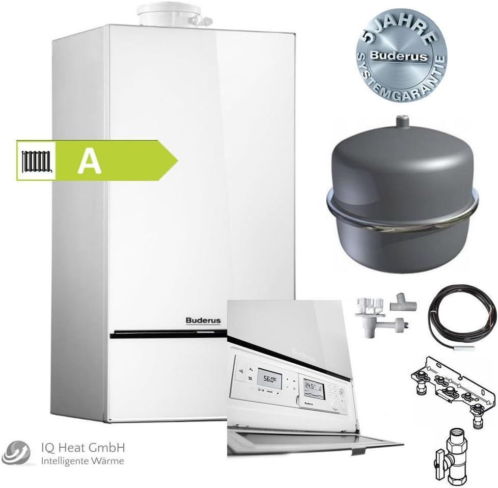 Buderus logamax Max Plus gb18220kW Blanco–del paquete w42s RC310Mag Gas condensación calentador