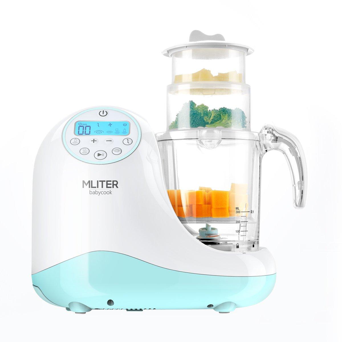 OKSLO All in one baby food maker with steam cooker, blender, chopper, sterilizer & war