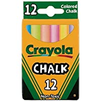 Crayola Chalk For Blackboards And Paper Assorted Colors
