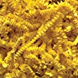 2 Pound Crinkle Cut Paper Shred - Yellow