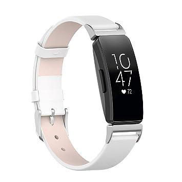 de6d9a46476a WEINISITE Pulsera para Fitbit Inspire/Fitbit Inspire HR,Cuero ...