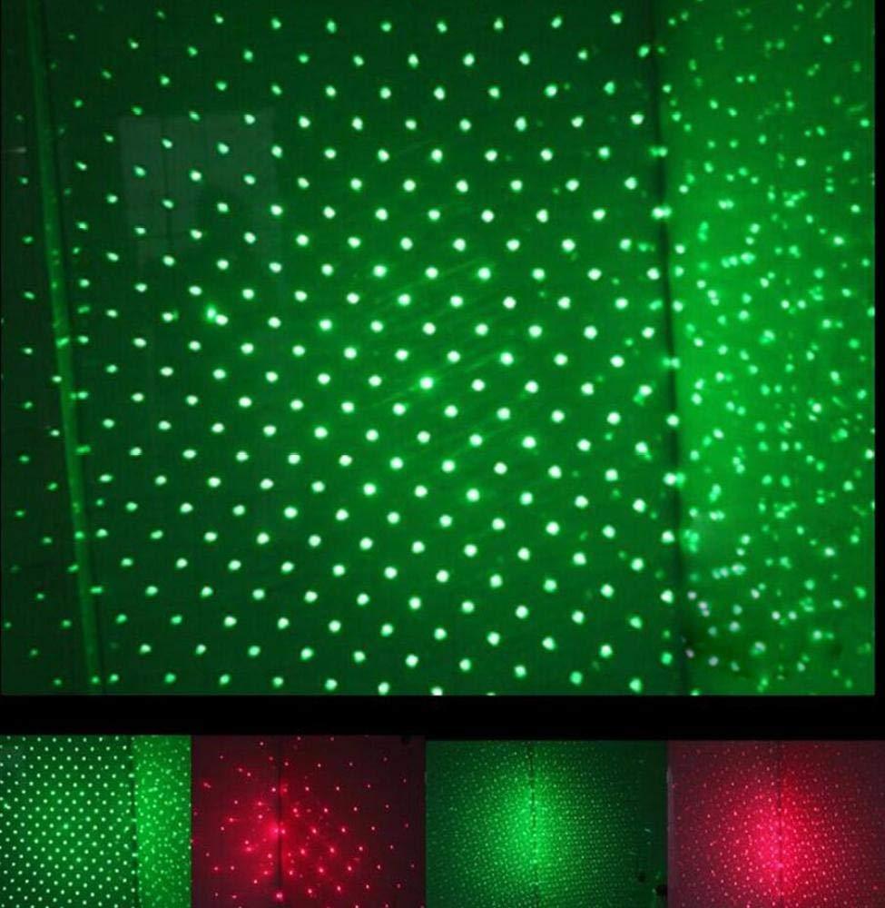 JHJX Puntero Verde Puntero Profesional Deslumbramiento L/ápiz /óptico Control Remoto Puntero Proyector Linterna Multifunci/ón Linterna T/áctica Ajustable para Camping,Black