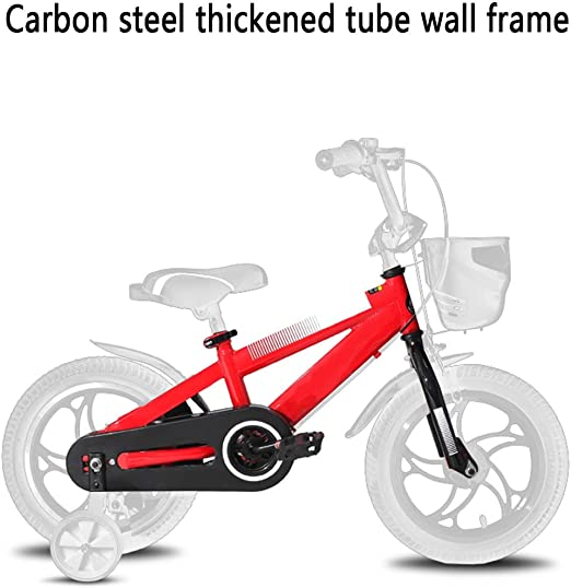 Axdwfd Infantiles Bicicletas Bicicleta for niños, Bicicleta de una ...