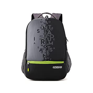 American Tourister 32 Ltrs Black Casual Backpack (AMT Fizz SCH Bag 02 -  Black)  Amazon.in  Bags a38ed7373297a