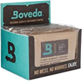 Boveda for Cigars/Tobacco | 69% RH 2-Way Humidity Control | Size 60 for Use with Every 25 Cigars a Humidor Can Hold | Patente
