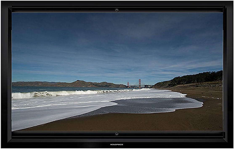 Monoprice MOUNT-IT multiformato marco pantalla de proyección – 10 ...