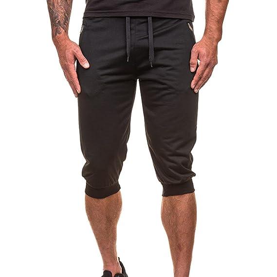 LuckyGirls Pantalones Casuales Hombres Chandal Originales Jogger Slim Fit Suelto Elasticos Pantalón Personalidad Ropa Deportiva: Amazon.es: Ropa y ...