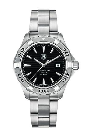 new style fb09c 53395 Amazon   [タグ・ホイヤー]TAG HEUER アクアレーサー 腕時計 ...