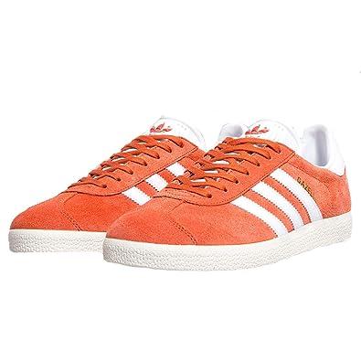 magasin d'usine 287ad 554da adidas Originals Gazelle Orange Mens Trainers: Amazon.co.uk ...