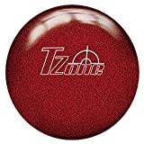 Brunswick Tzone Candy Apple Bowling Ball, 8 lb, Red